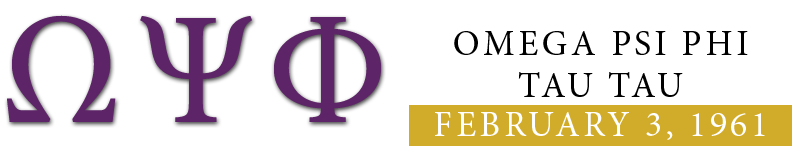 Omega Psi Phi Fraternity,Inc. Logo
